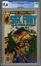 SGT FURY AND HIS HOWLING COMMANDOS #159 - CGC 9.6 - ONLY 9.6 IN CENSUS! - *3019
