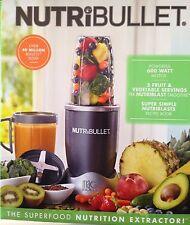 NutriBullet 8-Piece Nutrition Extractor Blender Juicer, 600 Watts - 120 Volts