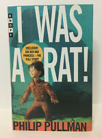 SIGNED! by PHILIP PULLMAN - I Was a Rat! - 1ST/3RD - 2000 - Knopf - FINE/MINT!!!