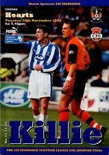 More details for 99/00 kilmarnock v hearts (league cup – postponed)