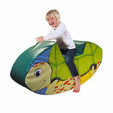 Implay Soft Play PVC Foam Children's Sea Turtle Rocker Activity Toy