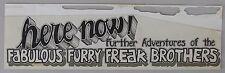 Original Freak Bros Art, Gilbert Shelton + Rip Off Press Catalog it appeared in.