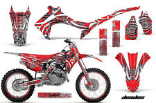Honda CRF 450R Graphic MX Kit AMR Racing # Plate Decal Sticker Part 13-14 DEADEN