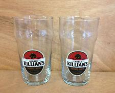 Killian's Irish Red 16 oz Nonic Glass - Set of 2 Killians Glasses New & F/Shipn.