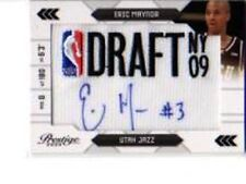 ERIC MAYNOR 2009-10 PRESTIGE NBA DRAFT CLASS AUTO LOGOS RC  /125