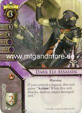 Warhammer invasión - 2x Dark once Assassin #039