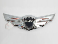 Front Hood Bonnet Wing Emblem 1p For 2011 2013 Hyundai Genesis Sedan