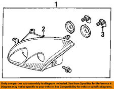 MITSUBISHI OEM 1999 3000GT-Headlight-Head light Headlamp Assy Right MR439758