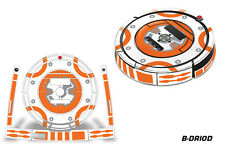 Skin Decal Wrap For iRobot Roomba 860/870/880 Vacuum Sticker Accessories B-DROID