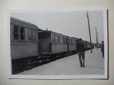 TUN01 - 1960s SNCF A VOIE ETROITE - TUNIS RAILWAY - TRAIN PHOTO Tunisia