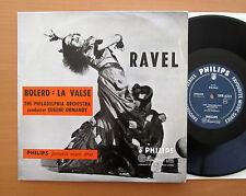 "SBR 6201 Ravel Bolero La Valse Eugene Ormandy - Philips 10"" Mono - EXCELLENT"