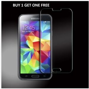 100% Real Samsung Galaxy S5 Genuine Gorilla Tempered Glass Film Screen Protector