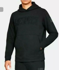 Under Armour Project Rock Respect Hoodie Sizes Black NWT