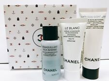 CHANEL Mousse Foaming Cream cleanser eye makeup remover Le Blanc Cream Set