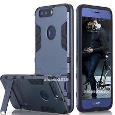 Huawei Honor 8 Case, Shockproof KickStand Hybrid Hard PC Case Back Cover Skin US