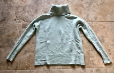BANANA REPUBLIC Pale Aqua Merino Wool/Cashmere Blend Turtleneck Sweater~Size XS