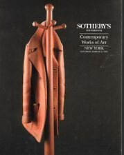 Sotheby's Contemporary Works of Art Auction Catalog 1992