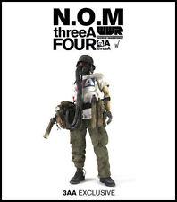 """3A ThreeA 3AA Ashley Wood WWR 1/6 N.O.M. 4th NOM de Plume 1/6th 12"""" figure MIB"""