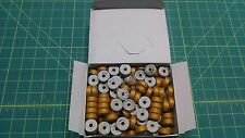 1 Gross Size G Bobbins Barbobs T60 Topaz/Gold Poly Uv Outdoor Thread T-60 #14a