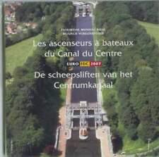 Belgie BU set 2007 / 1 cent - 2 euro KMS : Belgisch Werelderfgoed Scheepsliften