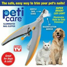 PetiCare The Illuminated Pet Nail Clipper- Great for Cats & Dogs