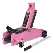 Sealey 1153CXP Charity Edition Trolley Jack Pink 3 Tonne
