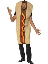 Giant Hotdog Costume Adults Mens Funny Food Costume