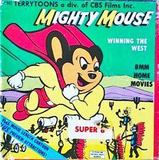 SUPER 8 MIGHTY MOUSE Original USA Film aus den 50ger JAHREN garantiert RARITÄT