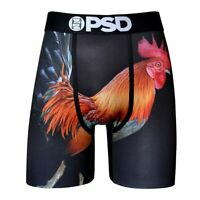 PSD Underwear Rooster Mens Boxer Briefs High Quality No Ride Up Sports Fishing