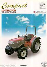 Farm Tractor Brochure - LG Machinery - LT360D - Compact (F3219)