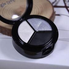 3 Colors Eyeshadow Matte Natural Smoky Cosmetic Eye Shadow Palette Set Make Up
