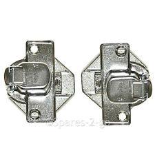 Door Hinge Pair for BEKO QWM84 WI1382 WI1483-ING WI1573 Washing Machine Hinges