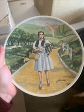 Wizard of Oz Over The Rainbow Dorothy Collector Plate Knowles Judy Garland 1977