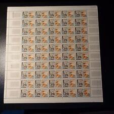 FEUILLE SHEET TIMBRE DÉBARQUEMENT NORMANDIE N°1409 x50 NEUF ** LUXE MNH