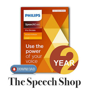 Philips LFH4412/02 SpeechExec Pro Dictate V11 Software 2 Year License  Download