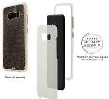 Case-Mate Samsung Galaxy S8 Case - Sheer Glam - Champagne Authentic
