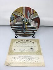 """Collectors Commerorative Plate """"Ashley"""" Gone With The Wind: R. Kursar; 1978"""