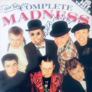 Madness Band Signed Album 12 inch
