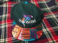 Vintage Sea World Tribal Print Snapback Trucker Hat