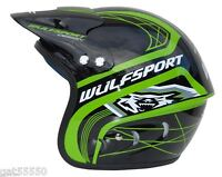 Kids Wulfsport Trials Helmet Beta Gasgas Ossa Oset Youth Child Rev Evo Txt