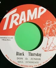 BLACK THURSDAY  / BEAUTIFUL BROWN EYES  ( DON D JUNIOR) VIN GORDON
