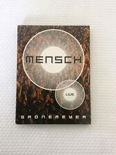 MENSCH Herbert Grönemeyer 2 DVD'S Livekonzert 2003