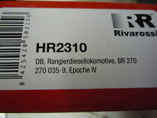 "RIVAROSSI HR 2310 ""scatola vuota"" per locomotiva BR 270 DB"