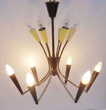vintage 50s Rockabilly Sputnik Design Lampe Spinne Leuchte Deckenlampe ~50er