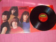 "Ramones ""End of the Century"" rare Greek edition Clash Motorhead Metallica"