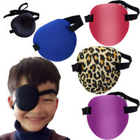 Medical Concave Eye Patch Foam Groove Washable Eyeshades for Strap Kids Adult