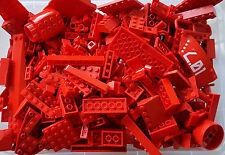 LEGO® 50 Stück Rote Teile gemischt Konvolut viele Sonderteile z.b Star Wars #2