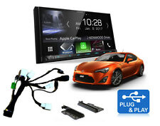 Kenwood DMX7017BTS Toyota 86 Complete Stereo Solution – Plug & Play