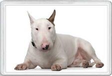 BULL TERRIER - JUMBO FRIDGE MAGNET - ENGLISH DOG PUP PUPS PUPPIES DOGS CANINE