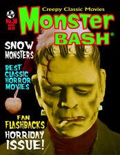 MONSTER BASH #38 Snow Monsters THE MUMMY'S HAND Frankenstein Horror Magazine NEW
